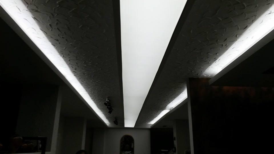 Işıklı Doku Gergi Tavan